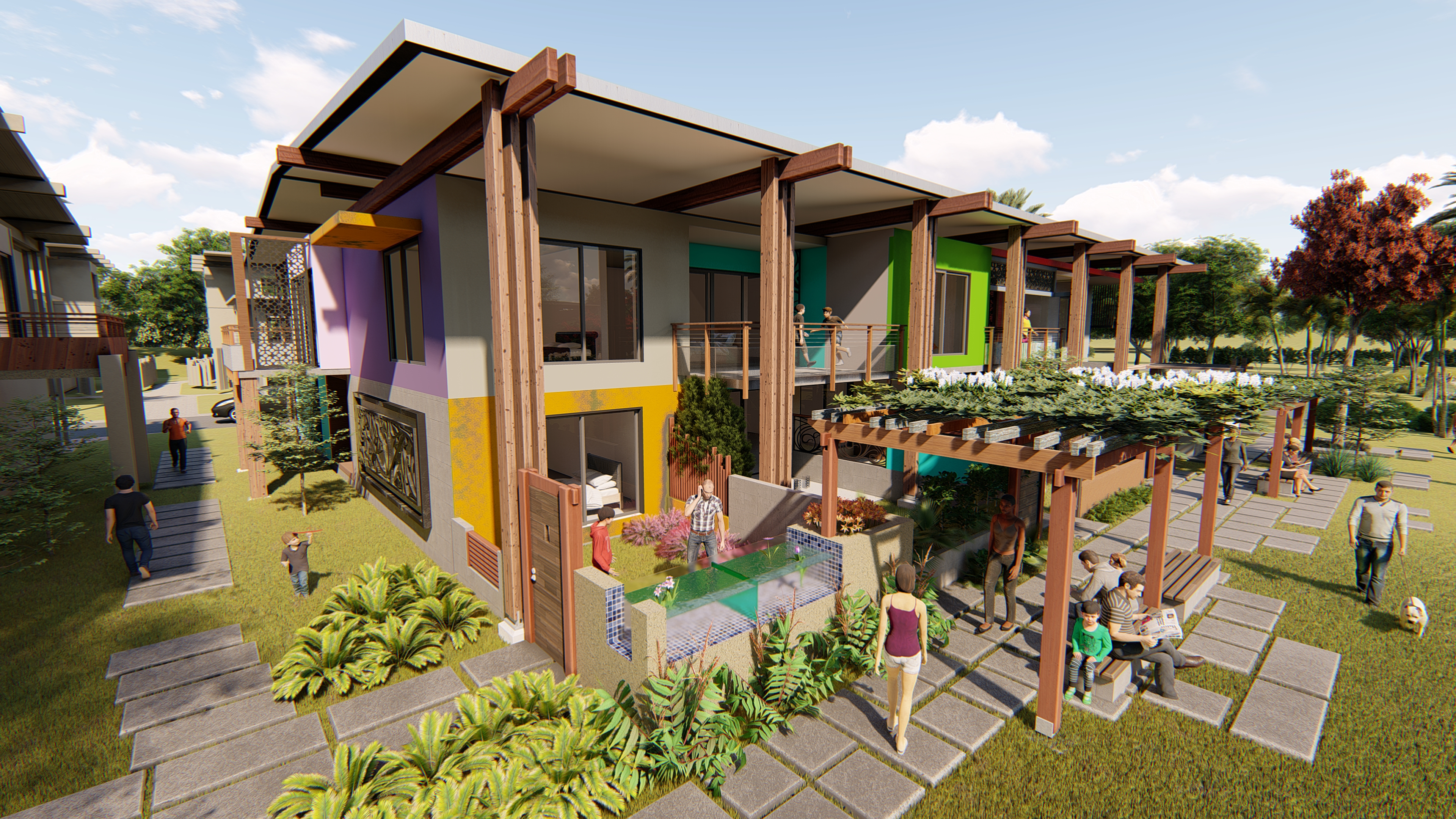 modular and flexible affordable housing